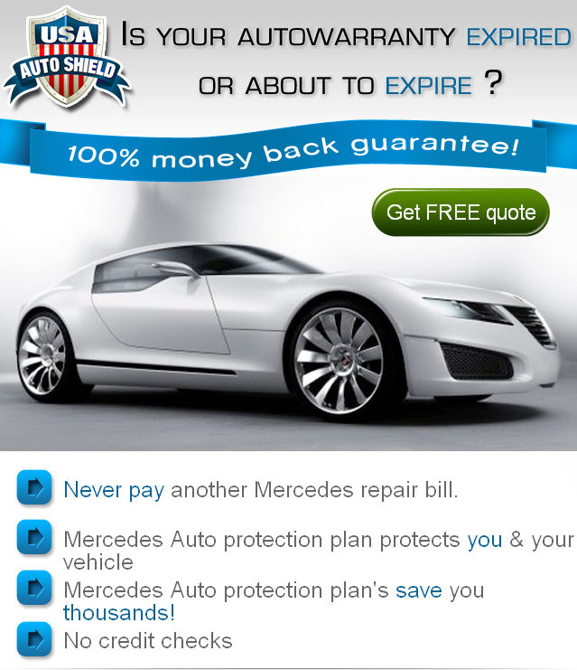 Mercedes Auto Vehicle Car Warranty Repair Service